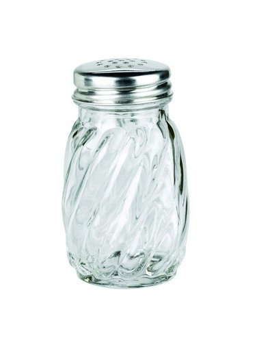 Anchor Hocking Swirl Glass Salt and Pepper Shaker with Lid, 3Ã'¼ oz. (Set of 12) by Anchor Hocking - Anchor Hocking Shaker