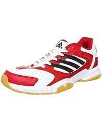adidas - Zapatillas para deportes de interior para hombre - Rojo, 12 UK