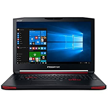 "Acer Predator G9-791-71MG Notebook Gaming, Display da 17.3"" IPS FHD, Processore Intel Core i7-6700HQ, RAM 16GB DDR4, SSD da 256GB + HDD da 1TB, Scheda Grafica NVIDIA GeForce GTX 970M da 3GB DDR5, Nero"