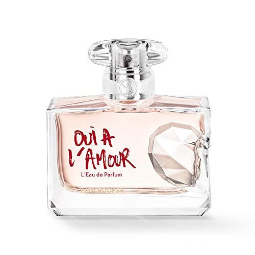 Yves Rocher OUI À L'AMOUR Eau de Parfum, blumig orientalischer Damenduft, mit Rosen-Extrakt, 1 x Zerstäuber 50 ml