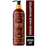 Vanalaya onion hair shampoo for Hair fall control and Dandruff control - No parabens and Suplate 200ml