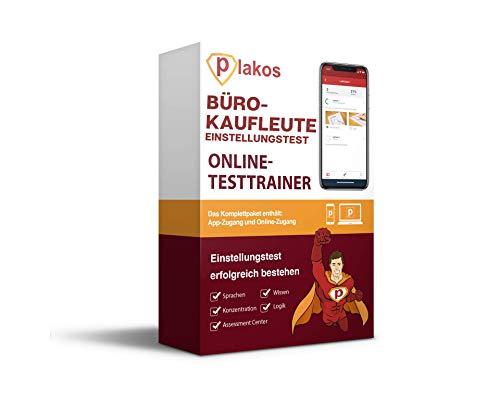Bürokaufmann / Bürokauffrau / Kaufleute für Büromanagement Einstellungstest Online-Testtrainer: Vorbereitung mit authentischen & interaktiven Aufgaben mit Lösungen | Tipps zum Auswahlverfahren