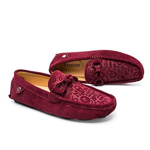 Miyoopark ,  Herren Sneaker Low-Tops burgunderfarben
