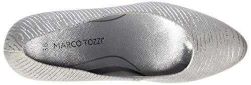 Marco Tozzi Damen 22435 Pumps Grau (LT.GREY COMB 248)