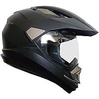Crosshelm Motocross Enduro Downhill Helm Motorradhelm Integralhelm RALLOX XP14A schwarz matt Größe M