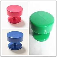 TTDENTAL - Soporte magnético de tres colores para bizcochos (3 unidades)