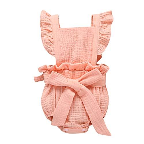 Pwtchenty Strampler FüR Baby Briefdruck Sleeveless Playsuits Sommerkleid Overall Jumpsuit Karneval Halloween MäDchen Freizeit Bekleidung
