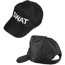 Widmann 03607SWAT Cap, ajustable para adultos, color negro