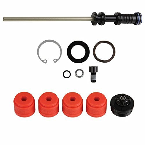 Rockshox Air Spring Upgrade Kit Solo Air Includes Refined Solo Air Assembly, 4 Bottomless Tokens Fits Boxxer (2011-2015) by Rock Shox -