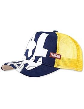 Coastal - Trucker Cap - Big Aloha - Navy Yellow