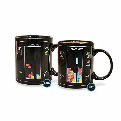 Tetris - Tetrimino - Farbwechsel-Tasse - Füllmenge 300 ml | Offizielles Merchandise von Nintendo