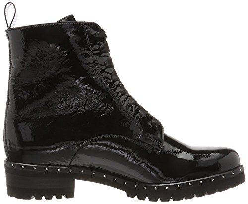 Peter Kaiser Ladies Lesata Biker Boots Nero (black Crash)