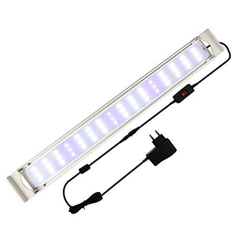 GOOBAT Iluminación LED para Acuarios, Lampara de LED para 55-60cm Acuarios, 16W