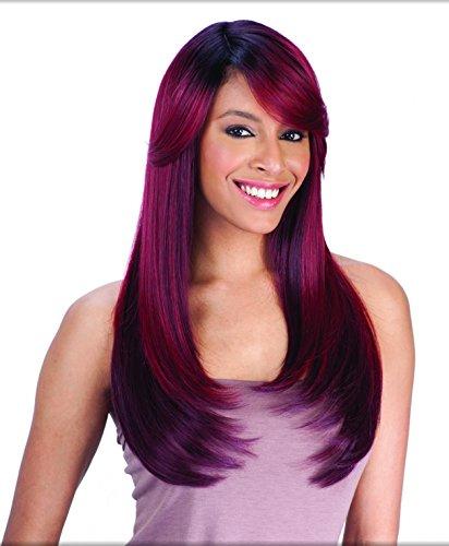 FreeTress Equal diagonale, parte anteriore, con parrucca Parrucca da donna Shake-N-Go-APPLE BLOSSOM