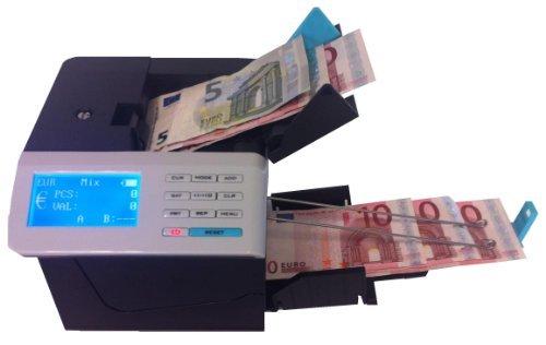 Conta banconote con verifica delle banconote, valorizzazione Euro - USD - CHF - Sterline - Assistenza e garanzia in ITALIA
