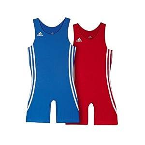 adidas Wrestling Twin Pack Kids 059473 air force blue/light scarlet (L)