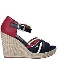 a40d3499f09 Amazon.es  Tommy Hilfiger - Sandalias y chanclas   Zapatos para ...
