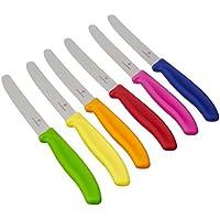 Victorinox - Set da 6 coltelli da cucina colorati, nuova forma del (Coltelli Da Cucina Utensili)