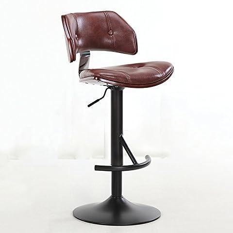 Europäischer Stil Bar / Bar Hocker / Bar Stuhl / europäischen Stil, Lack Basis ( Farbe : Grau )