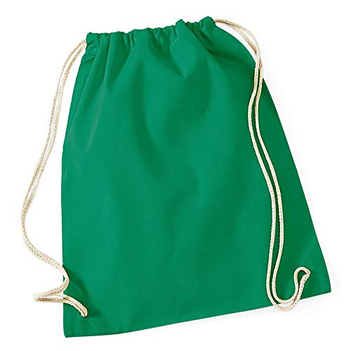 Westford Mill - Cotton Gymsac/Kelly Green, 46 x 36 cm