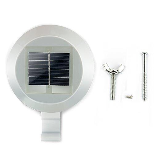 Uni quefire lampe solaire 3 led ext rieur lampe murale en for Lampe solaire exterieur pour terrasse