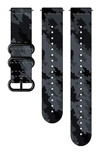 SUUNTO Uhrenarmband Zubehör, Outdoor Herren, 24mm Silicone, Concrete Black- Explore, 24mm ; M+L (130-240 mm) -