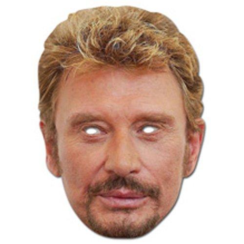 Masque Carton - Johnny Hallyday - Taille Unique