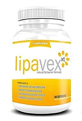 LipaVex Potent Belly Fat Burner Pills | Skinny Pill for Men and Women | Appetite suppressant formula by VH Nutrition