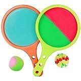 Akokie Klettballspiel Catch Ball Spielzeug Ballwurf und Catch 3 in 1 Spielzeug für Kinder ab 3 4 Jahren