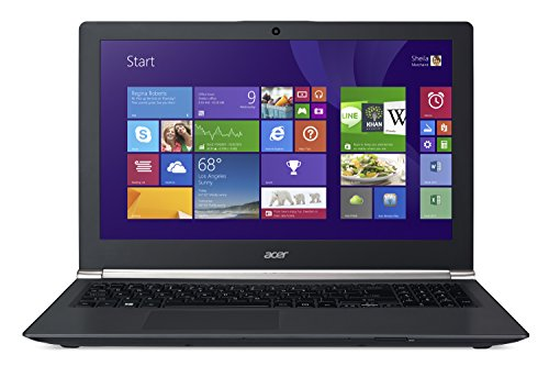 "Foto Acer Aspire V Nitro Laptop, Display 15.6"" HD, Processore Intel Core i7-4510U, RAM 8 GB, HDD 1 TB, Scheda Grafica NVIDIA GeForce 840M 2 GB, Nero"