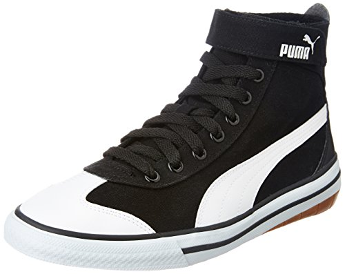 Puma Men's 917 Mid DP Puma Black and Puma White Sneakers - 8 UK/India (42 EU)  available at amazon for Rs.1894