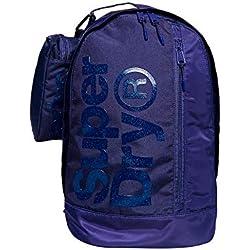 Superdry Mochila Academy Azul Mujer U Azul
