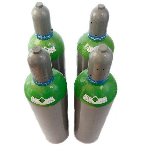 Gasflasche Schutzgasflasche 20 Liter Gas f. MIG MAG Schutzgasschweißgerät fabrikneu