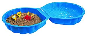 Big 7711-001 - Conchiglia per acqua e sabbia, colore: Blu [Importato dalla Germania]