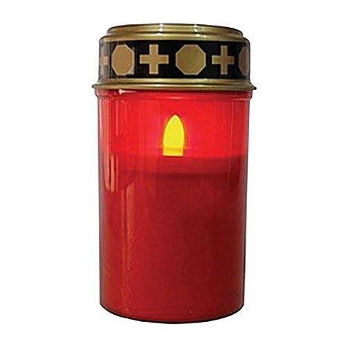 Lumino votivo led alimentato a batteria 2xc 1,5v