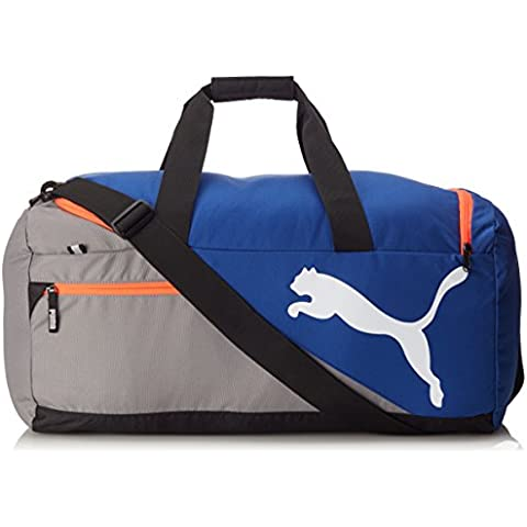 Puma Fundamentals Sports M Borsa - Blu (Mazarine Blue/Red Blast) - M