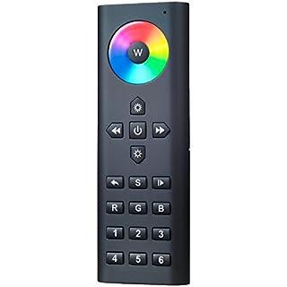 Confortevole: telecomando Midi per RGB, RGB + W e rgbws LEDs, 6Zone di luce, 6luce Scene   Nero (B01BIXHW0I)   Amazon price tracker / tracking, Amazon price history charts, Amazon price watches, Amazon price drop alerts