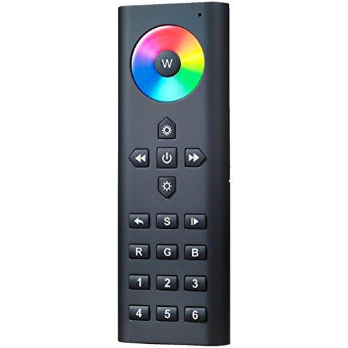 iluminize Funk Fernbedienung: Steuerung von RGB/RGB+W/RGBWS LEDs, 6 Zonen, 6 Szenen, KEIN Universal-Gerät: Funk Controller ist erforderlich (für RGB/RGB+W/RGBWS LEDs) -