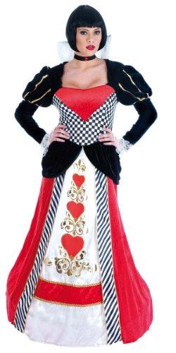 Königin von Herzen - Adult Kostüm