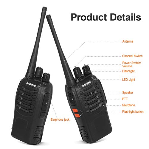 Zoom IMG-1 walkie talkie ricetrasmittente fm vhf