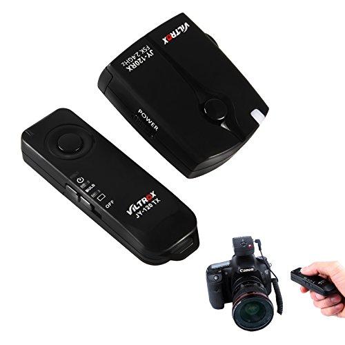 VILTROX JY-120-C1 Fernauslöser für Canon-Kameras Canon EOS 70D, 60Da, 60D, T6s, t6i, T5i, T3i, T5, T3, 1200D, 760D, 100D, 550D, 1100D, MEHRWEG