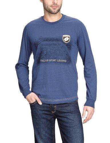 Lotto Q0439 T-shirt à manches longues pour homme Legend Bleu Bleu cristallisé Large