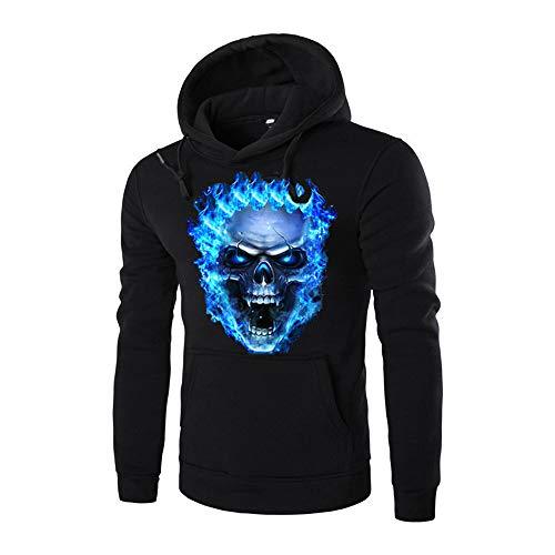 ken 3D Druck Hoodie Sweatshirt Kapuzenpullover Grafik Langarm Pullover Top Jumper ()