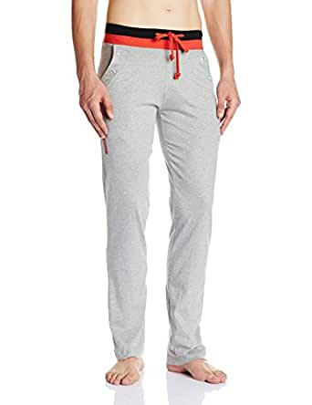 Chromozome Men's Cotton Track Pant (S6360_grey_S)