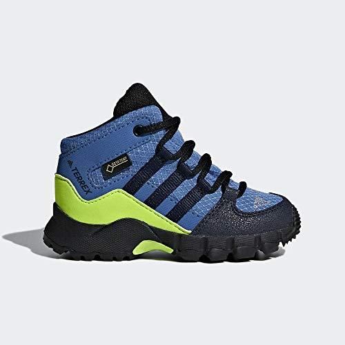 adidas Unisex-Kinder Terrex Mid GTX Trekking- & Wanderstiefel, Blau (Azretr/Maruni/Limsol 000), 24 EU