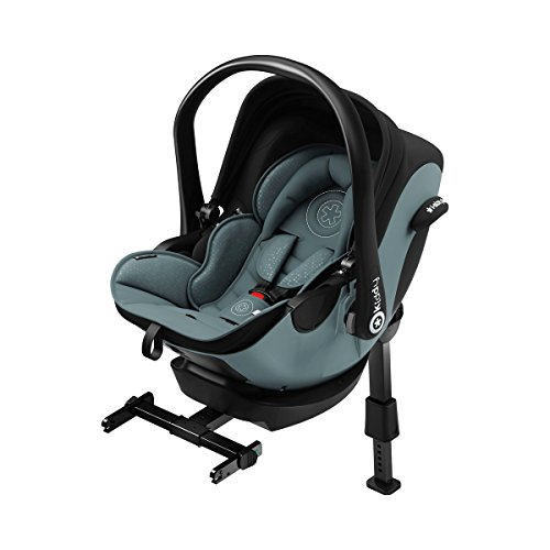 Preisvergleich Produktbild kiddy 41940EL076 Kindersitz I-Size inklusive Isofix Base 2 Steel, grau