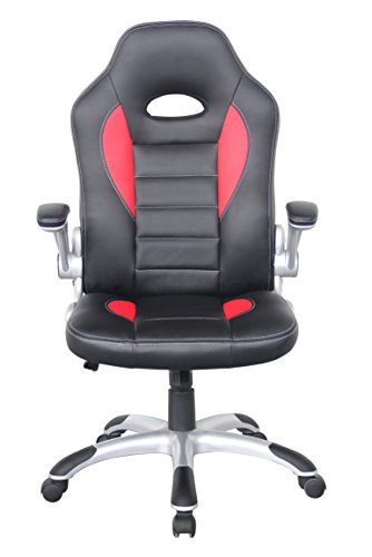 Buy Alphason Faux Leather Talladega Racing Sport/Office Chair – Red