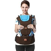 ThreeH Portabebé ergonómico Saco de transporte para bebés para niños pequeños y recién nacidos BC01