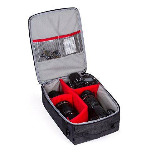 Olympus Gadget Bag (Beaspire SLR-Kameratasche Kamerarucksack Zubehör Fächer DSLR Schutztasche für DSLR-Kamera und Zubehör)
