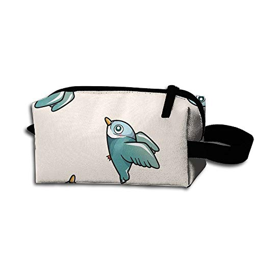 Lovely Bird Receive Bag Fashion Practical Kosmetiktasche Zipper Hand Printed Bag Storage Bags -